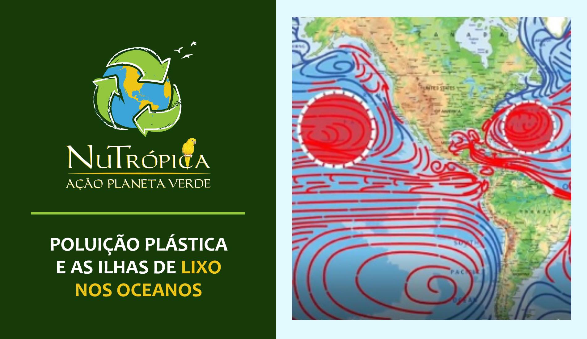 Ação Planeta Verde - Poluição Plástica e as Ilhas de lixo nos Oceanos