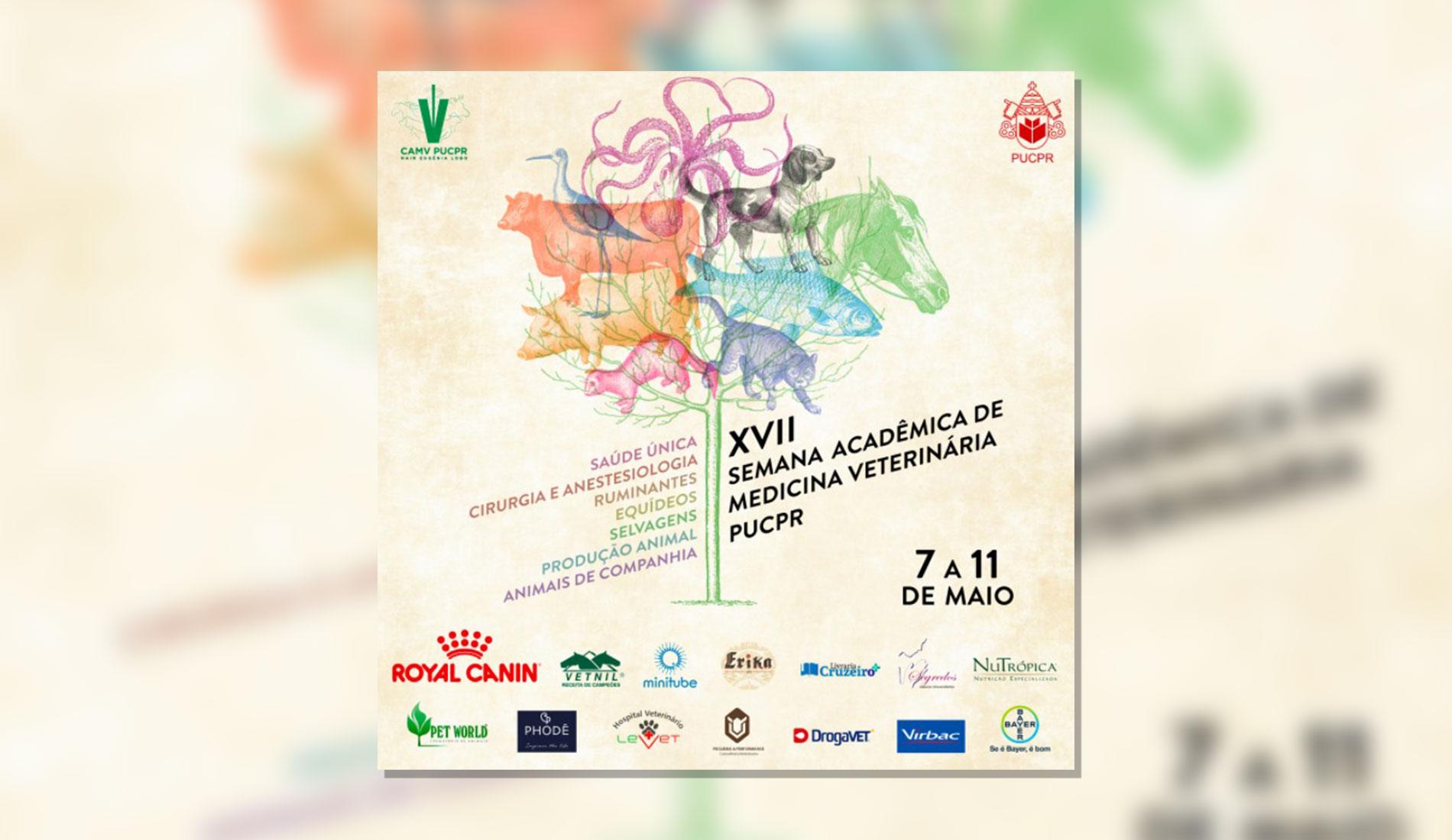 XVII Semana Acadêmica de Medicina Veterinária PUCPR
