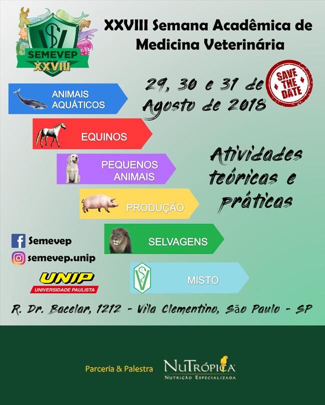 XXVIII Semana Acadêmica de Medicina Veterinária