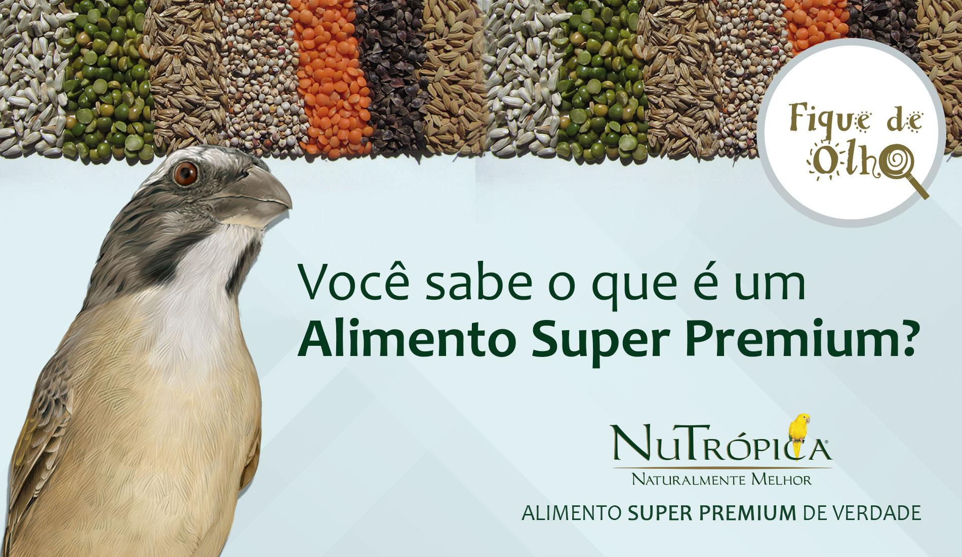 O que torna o Alimento Super Premium tão especial e superior aos demais?
